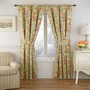 WAVERLY Spring Bling Window Curtain 84x52 Vapor