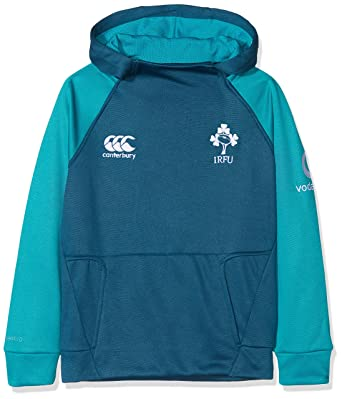 Canterbury Ireland Official 17//18 Junior Rugby Vaposhield Full Zip Jacket