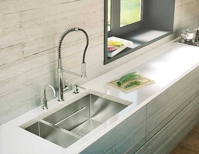 Franke CENTINOX Cromo - Dispensador de jabón (46 mm, 84 mm, 261 mm, 6,7 cm, 19,4 cm, 4 cm): Amazon.es: Bricolaje y herramientas