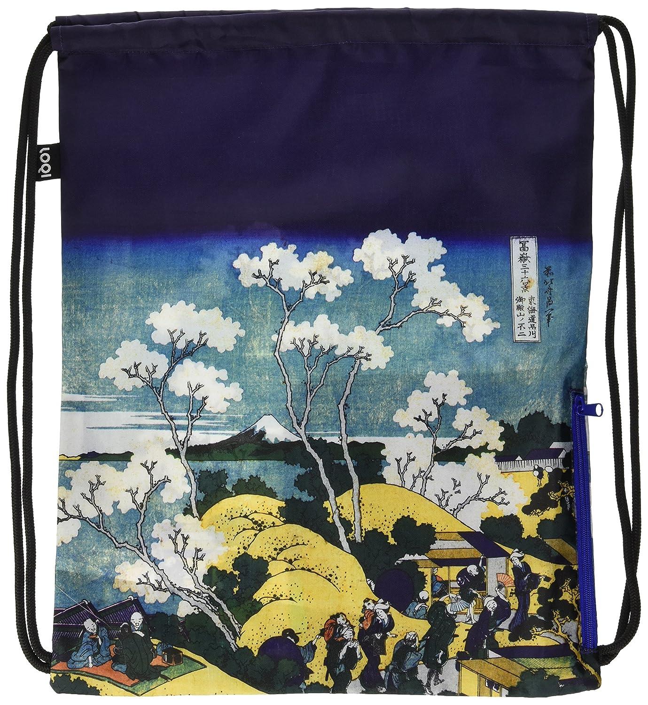 LOQI HOKUSAI Fuji from Gotenyama Backpack - Mochilla, Multicolor, 43.5cm x 34cm
