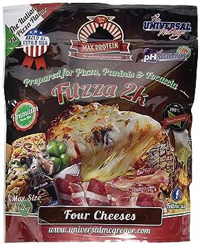 Harina de avena pizza