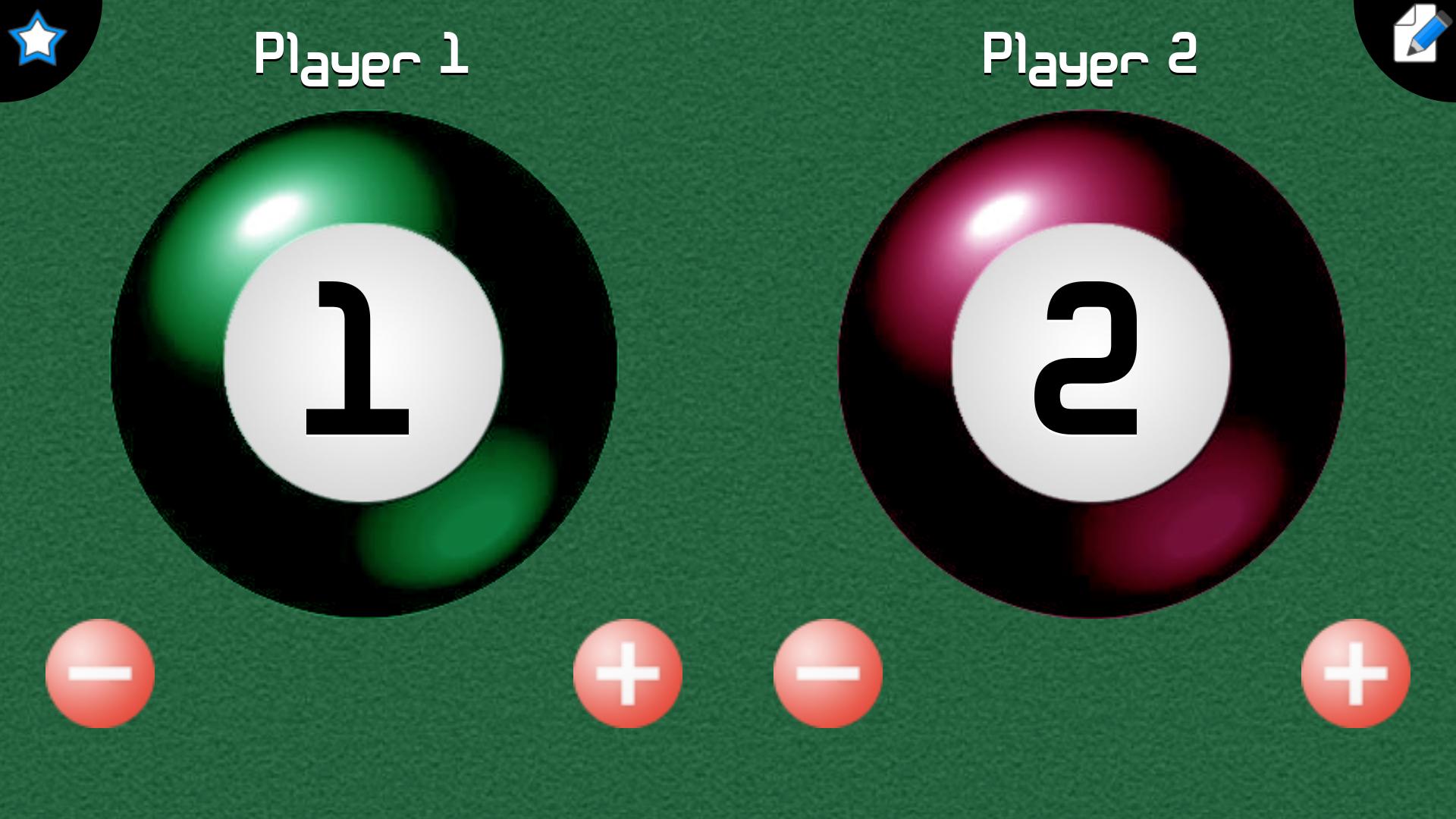 Billiards Score