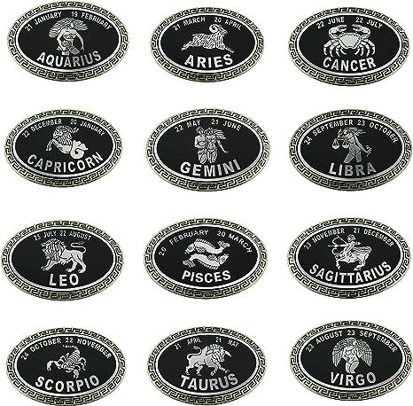 12 Pcs Wholesale Belt Buckles Manufacturer Usa Star Zodiac Sign W Bottle Opener