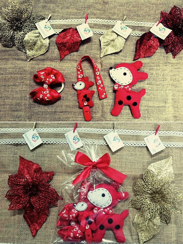 Set regalo bebe, Regalo de nacimiento bebe, lazo de pelo ...