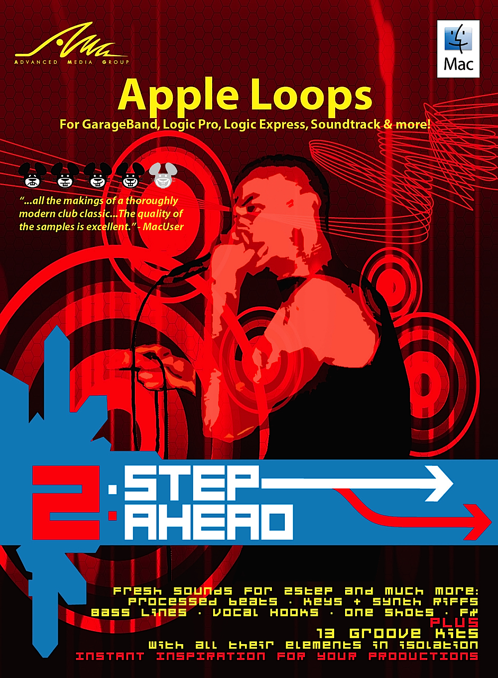 Amg Apple Loops - 2Step Ahead - Apple Loops Library for Apple GarageBand & Logic - DOWNLOAD [Download]