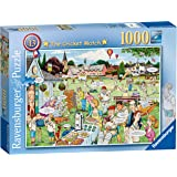 Ravensburger The Cricket Match Puzzle 1000pc,Adult Puzzles
