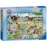 Ravensburger The Cricket Match Puzzle 1000pc,Adult Puzzles