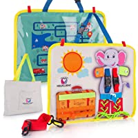 KIDZALLIENT Montessori Toy for Toddlers - Essential and Basic Fine Motor Skills...