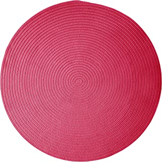 product image for Colonial Mills Boca Raton Area Rug 5x5 Magenta