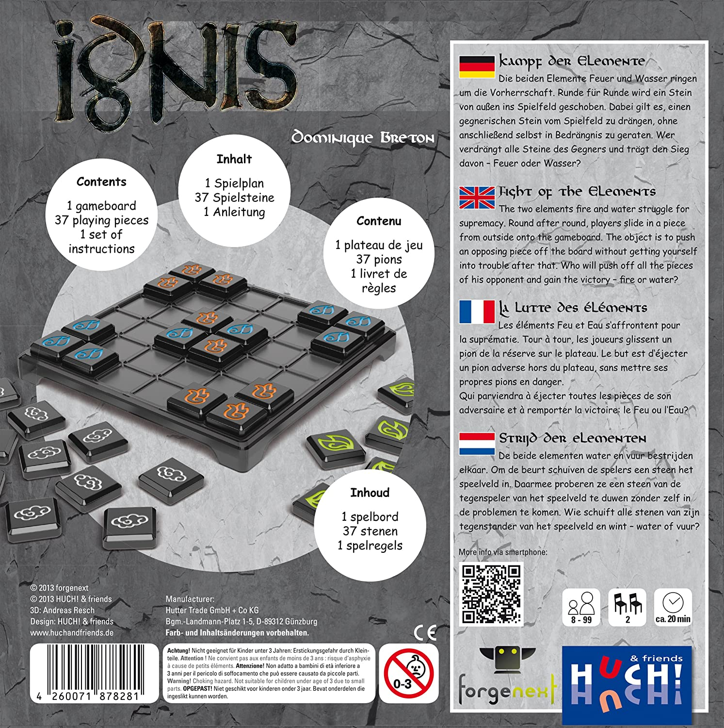 Co KG 878281 Ignis Board Game Hunter Trade GmbH