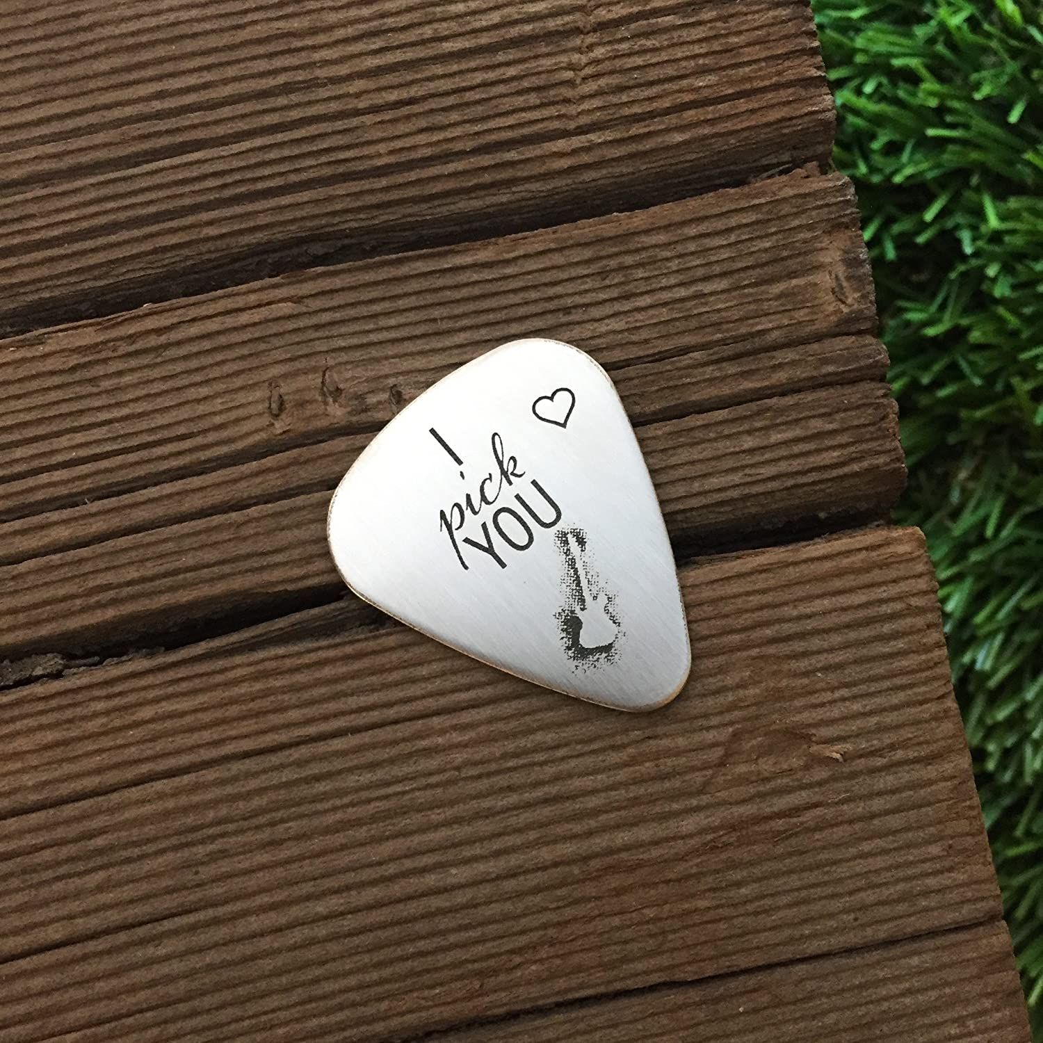 Amazon I Pick You Guitar Pick Valentines Day Gift Mens Guitar