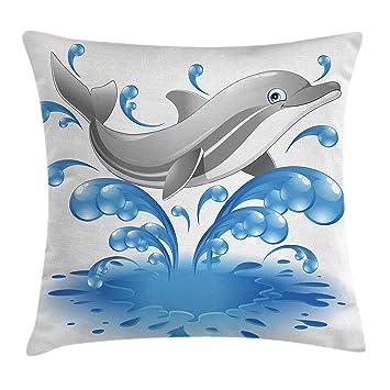 Amazon.com: Mar Animales Throw almohada cojín cubierta por ...