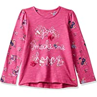 Mothercare Girls' Floral Regular Fit Long Sleeve Top