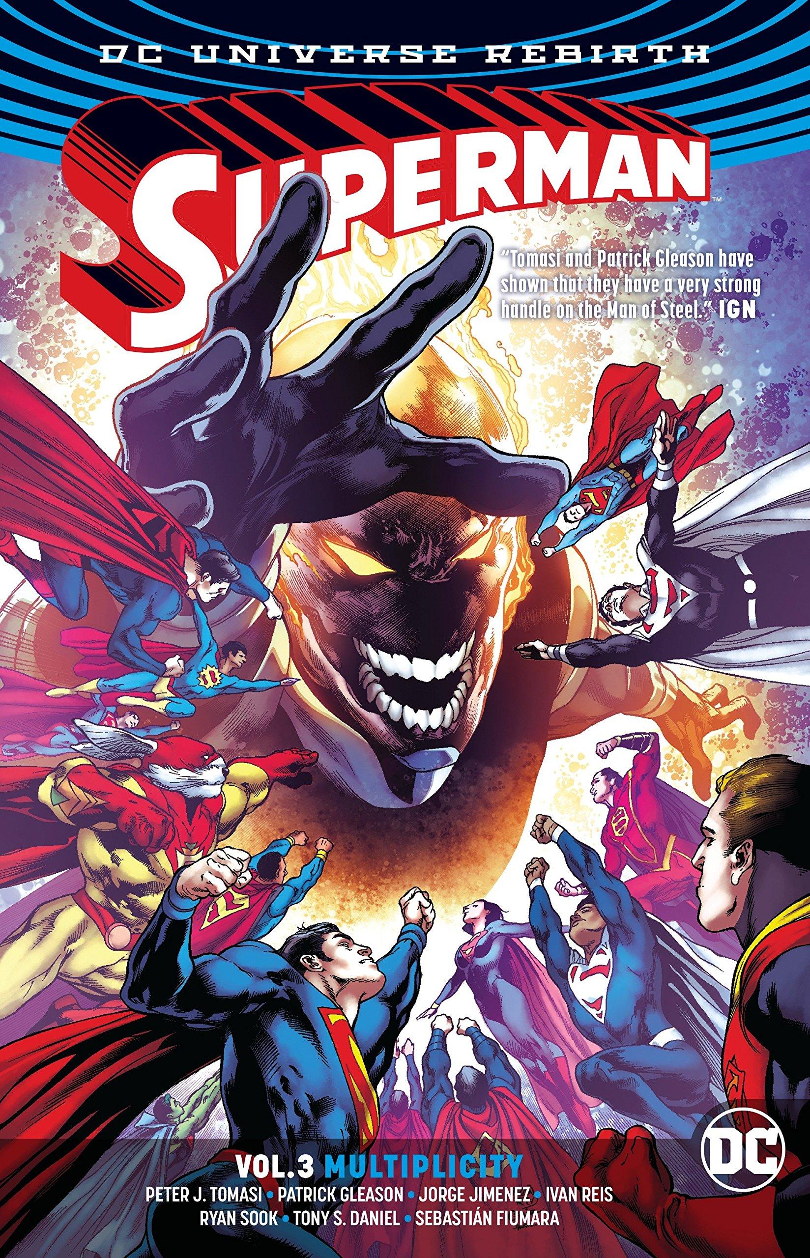 Superman TP Vol 3 Multiplicity (Rebirth): Amazon co uk