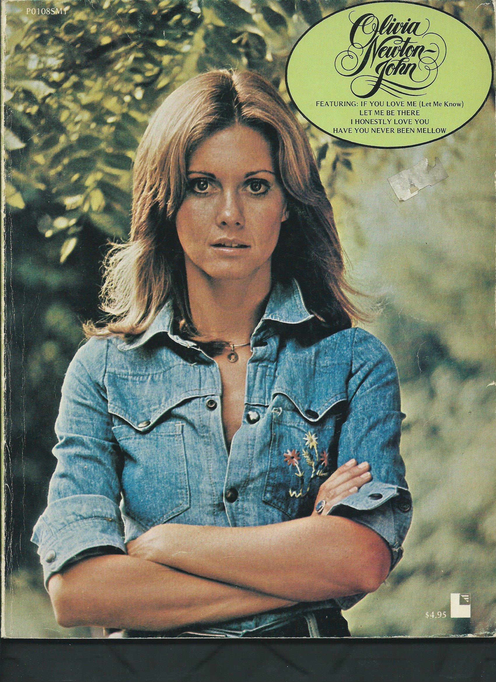 Olivia Newton John Songbook Biography 1974 Amazon Com Books