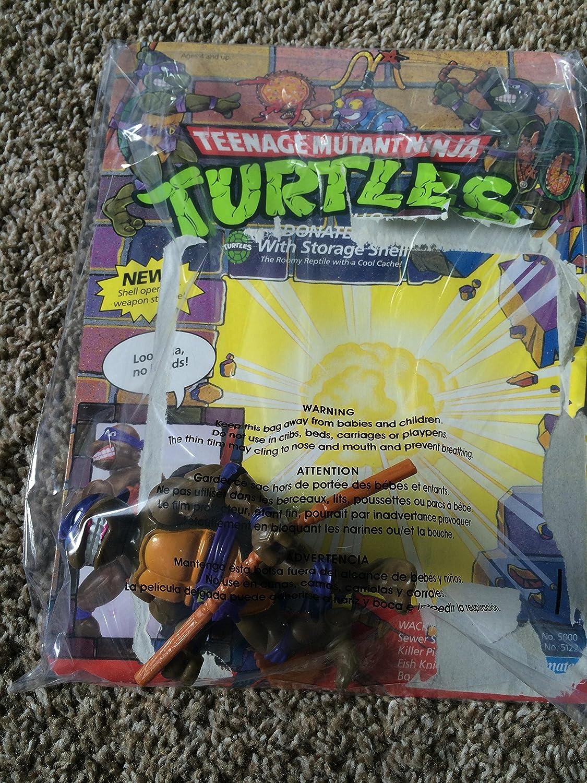 1990 Donatello con cáscara de almacenamiento, diseño de ...