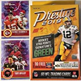 2019 Panini PRESTIGE Factory Sealed Football Hanger Box with 60 NFL Cards - Plus NEW Patrick Mahomes and TOM BRADY…