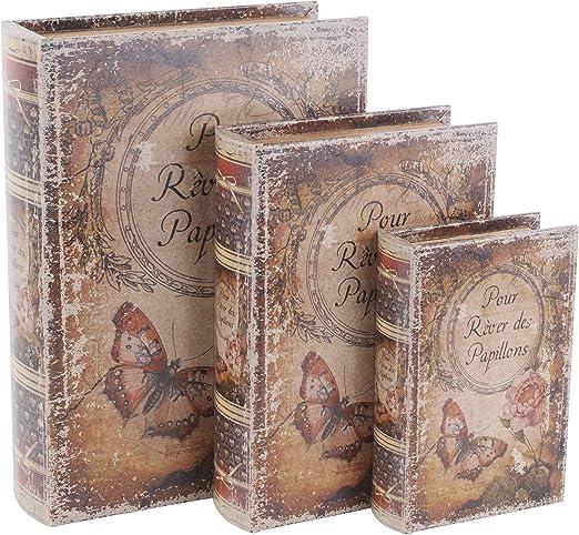 Caja de cuero libro grande: Amazon.es: Juguetes y juegos