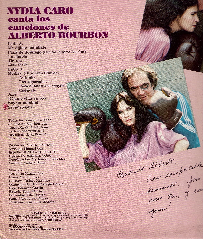 Nydia Caro - Nydia Caro Canta Las Canciones De Alberto Bourbon ...