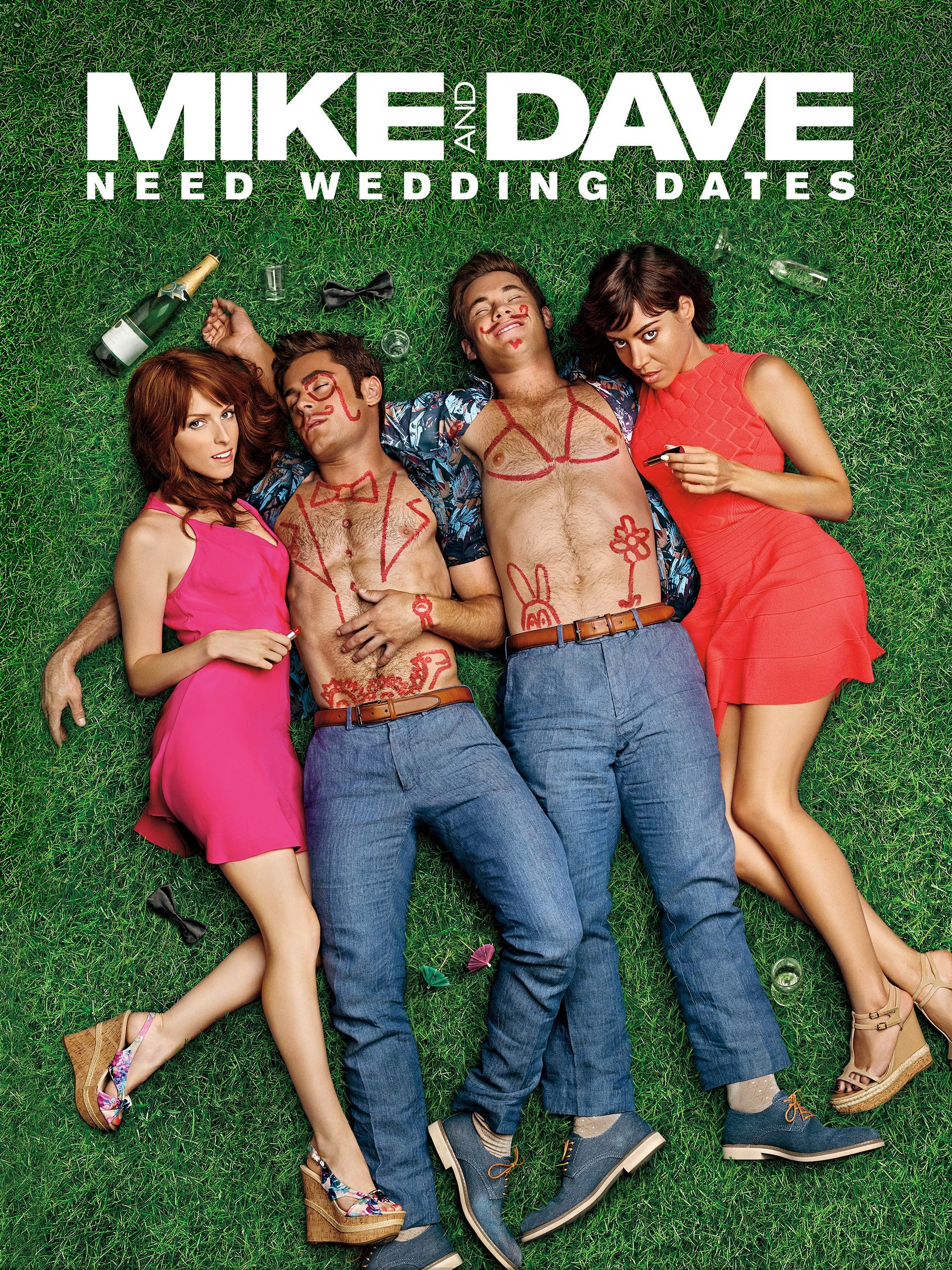 Image result for mike and dave wedding dates""