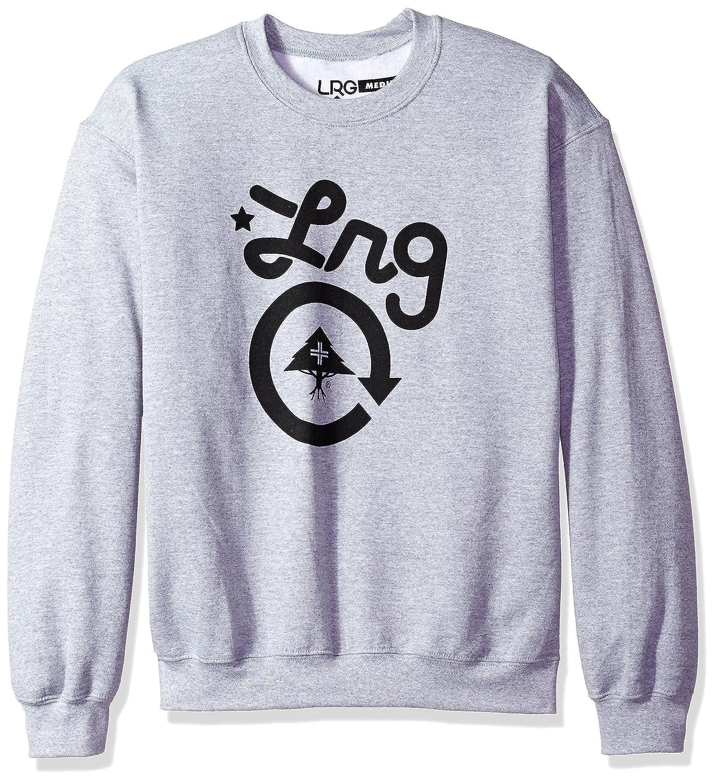 LRG Mens Core Collection One Crewneck Sweathshirt Sweatshirt