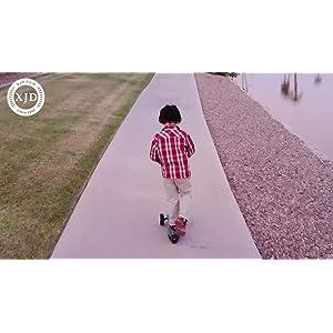 XJD Casque Vélo Enfant Sets de Protection Enfant de 3-13 Ans Genouillères Coudières Protège-Poignets Réglables Kit de Protection Filles Garçons Rollers Skate Trottinette Skateboard
