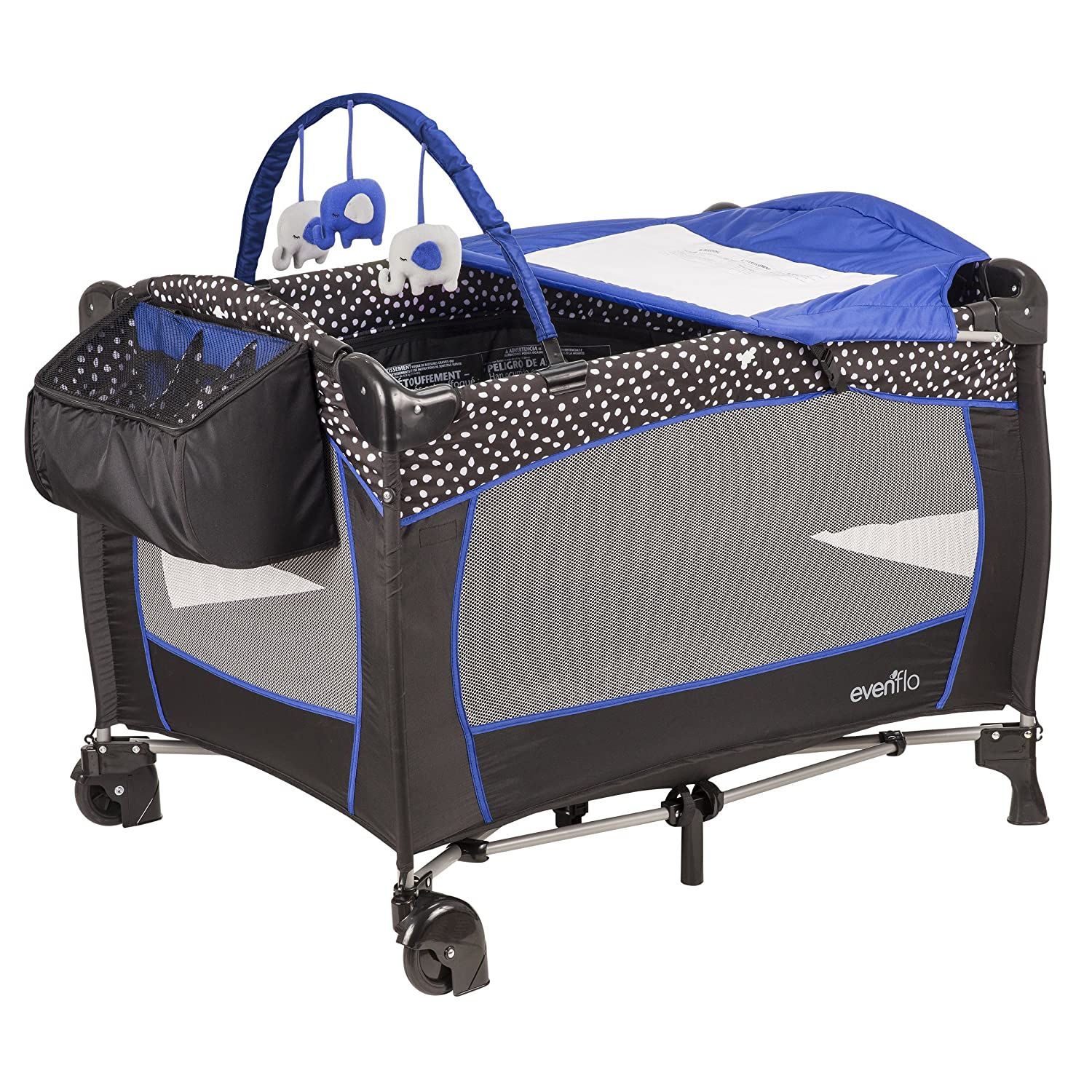 Evenflo Portable Baby Suite Deluxe Hayden Dot 70211874
