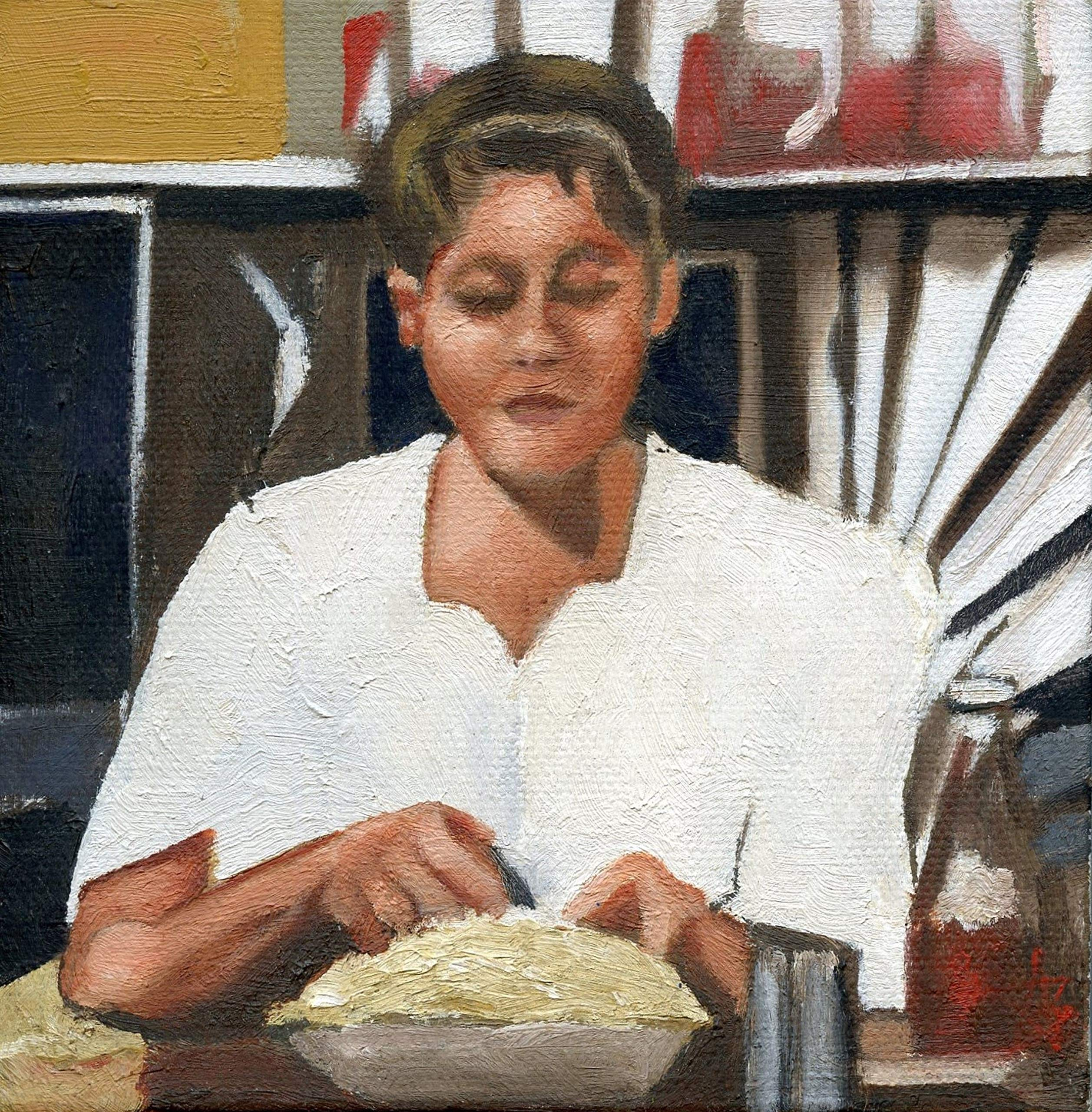 Waitress with Pie, 1