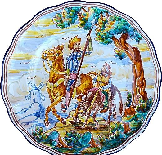 Decorativo Placa De España – Don Quijote y Sancho Panza (Spear Up): Amazon.es: Hogar