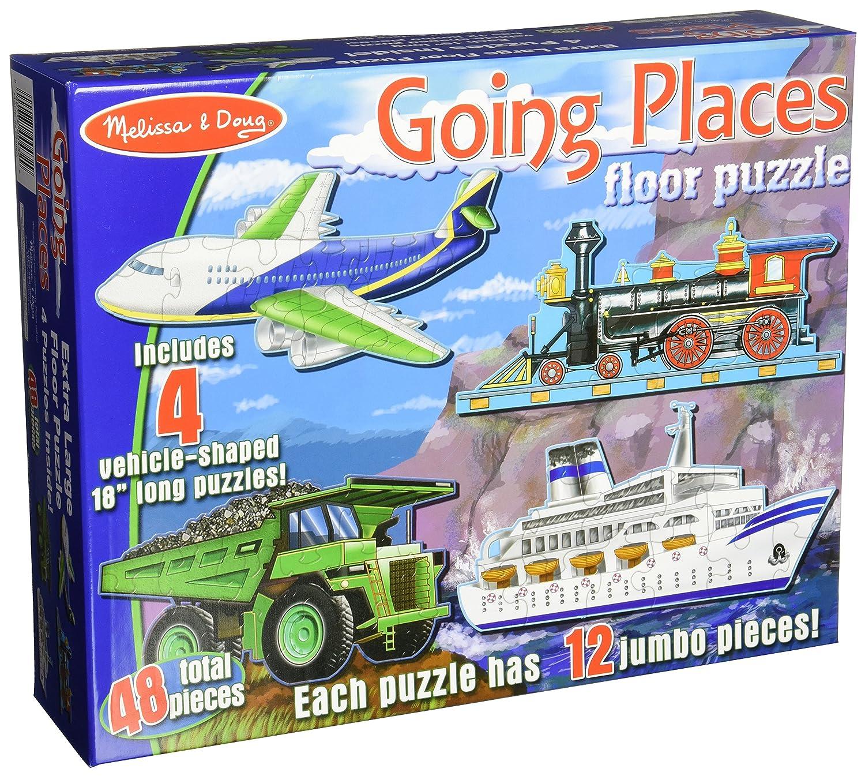 Captivating Amazon.com: Melissa U0026 Doug Going Places Vehicles Floor Puzzles (4 Puzzles,  12 Pcs Each): Melissa U0026 Doug, 48pc 432 : Toys U0026 Games