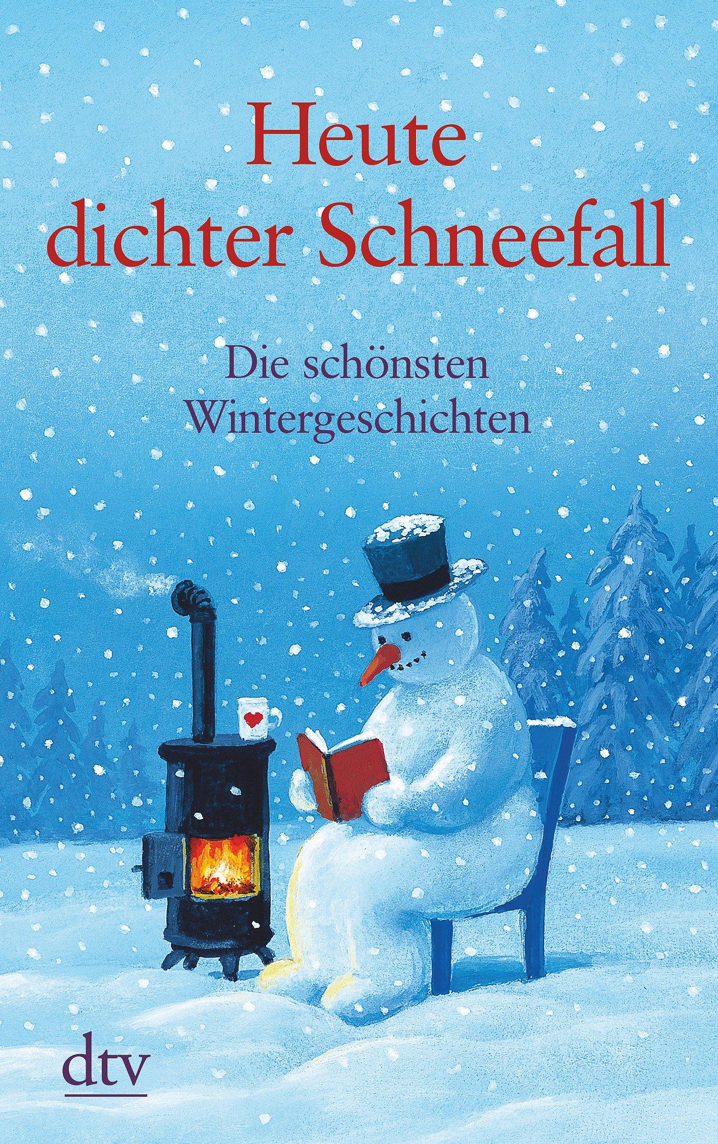 Heute dichter Schneefall: Die schönsten Wintergeschichten (dtv großdruck)