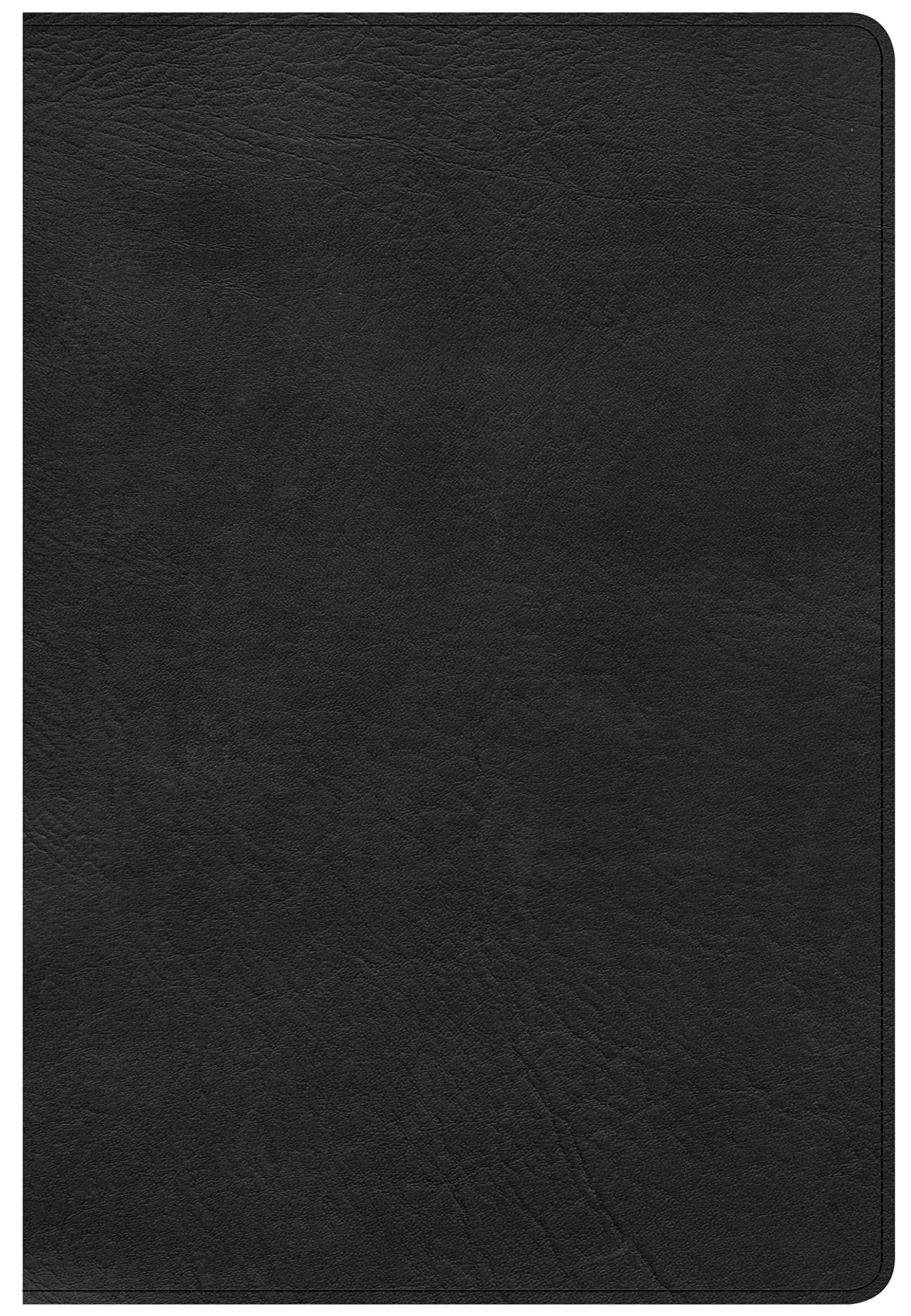 Download CSB Giant Print Reference Bible, Black LeatherTouch, Indexed ebook