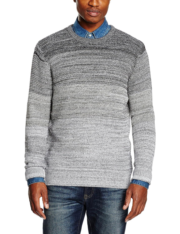 TALLA L. JACK & JONES Jcobroken Knit Crew Neck suéter para Hombre