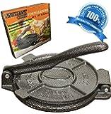 Amazon.com: Norpro 6-Inch Tortilla Press, Cast Aluminum