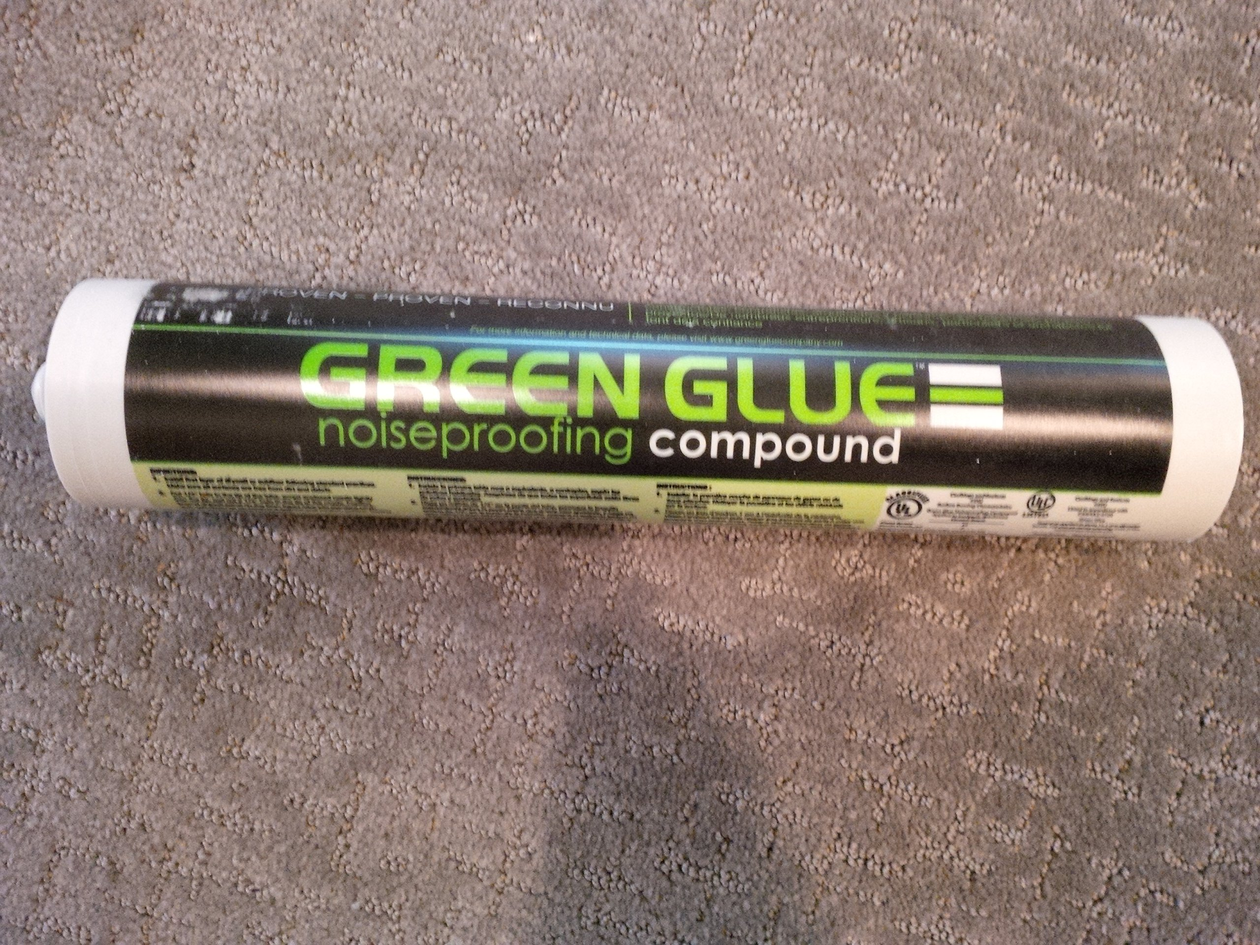 Case of Green Glue Noiseproofing Compound - 12 Tubes