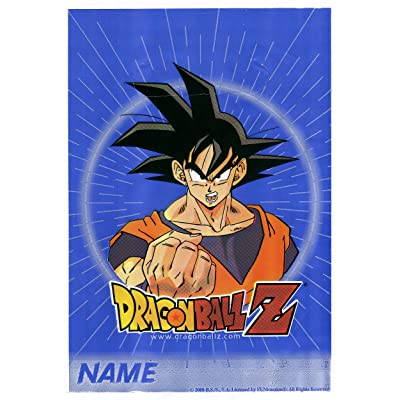 Dragonball Z Favor Bags (8ct): Toys & Games