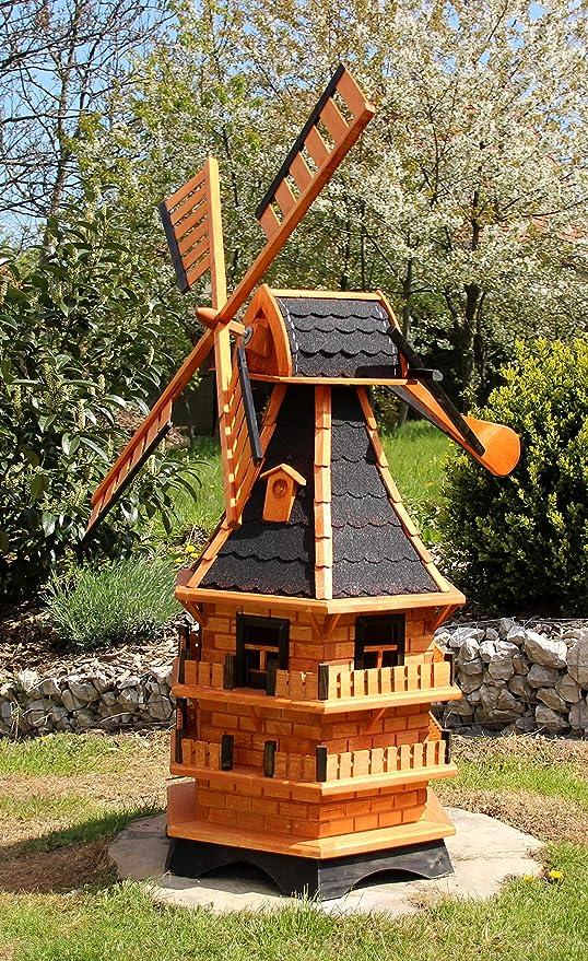Molinillos de viento XXL para el jardín con espada de viento tipo 21.1, Negro: Amazon.es: Jardín