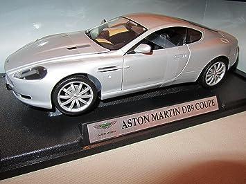 Aston Martin Db9 Db 9 Coupe Silber 1 18 Mondo Motors Modellauto Modell Auto Amazon De Spielzeug