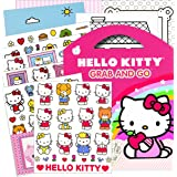 Hello Kitty Stickers Grab & Go Travel Activity Pack ~ Stickers, Play Scenes, Coloring Sheets, plus Bonus Reward Sticker!