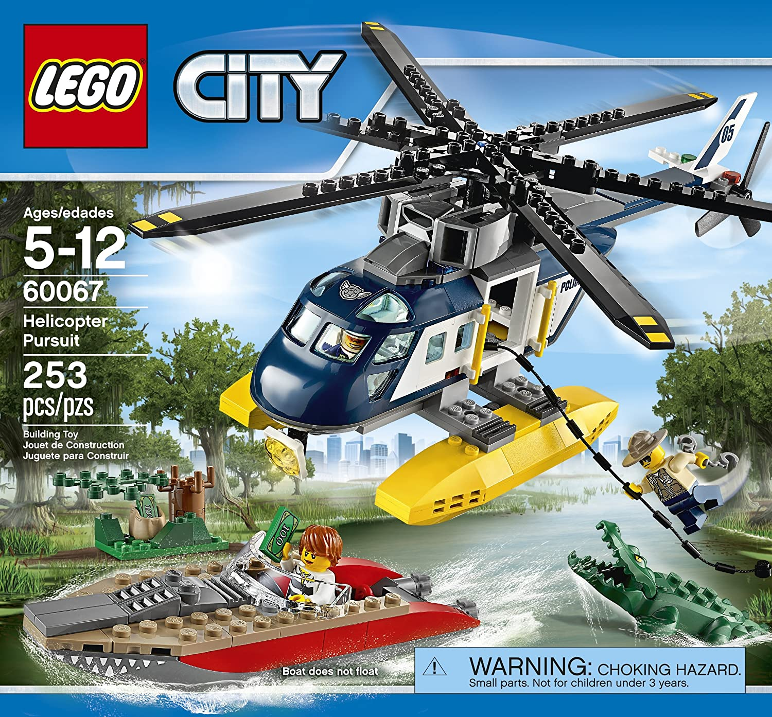 amazon com lego city police helicopter pursuit discontinued by