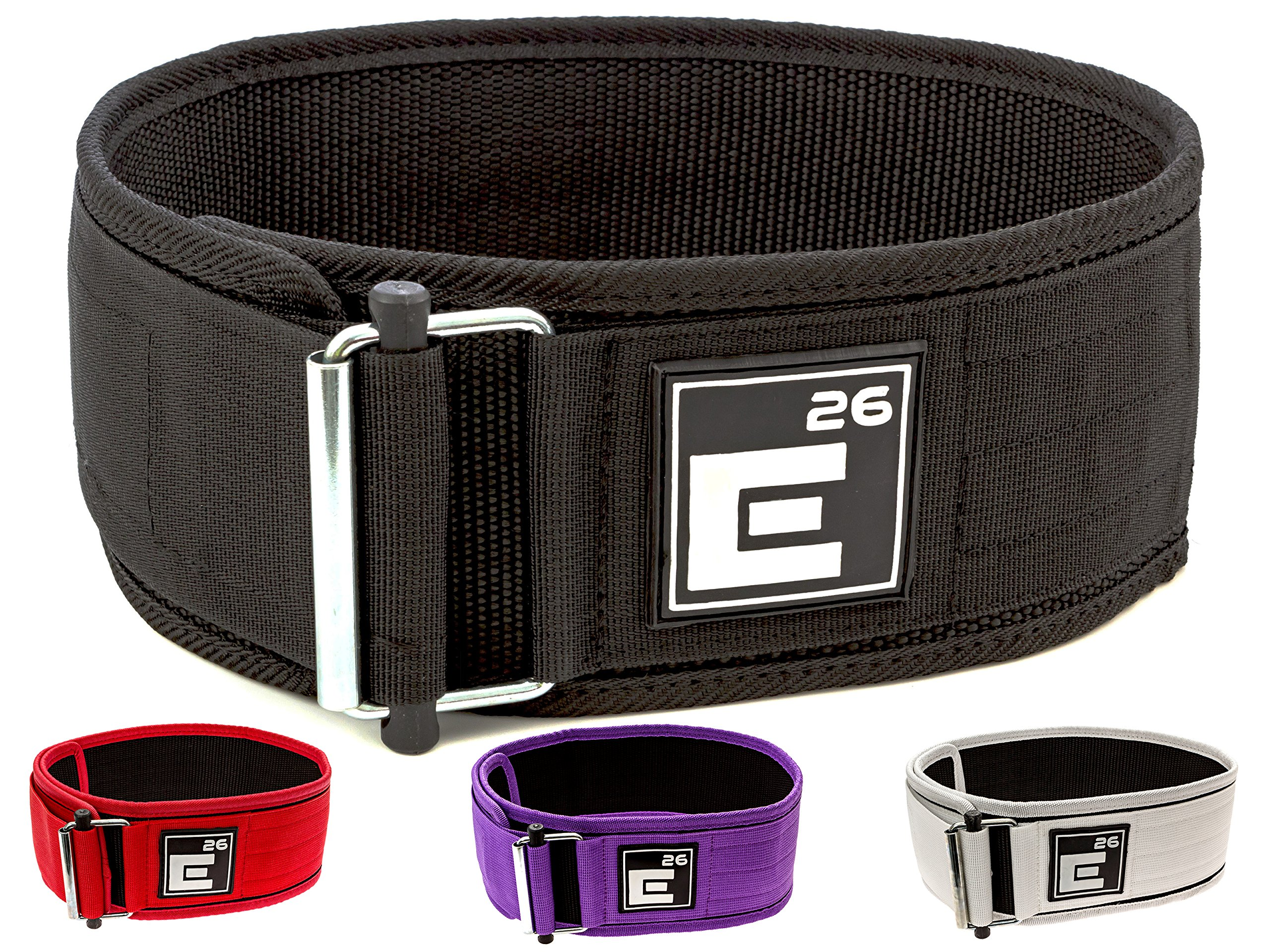 Self-Locking Weight Lifting Belt – Premium Weightlifting Belt for Serious Functional Fitness, Weight Lifting, and…