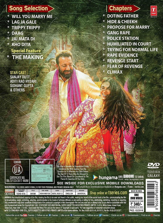 Amazon Com Bhoomi Sanjay Dutt Sunny Leone Movies Tv