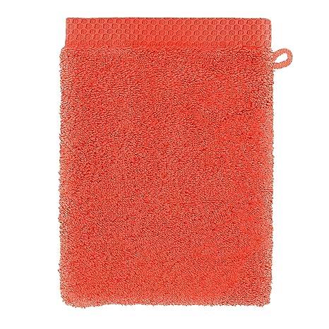 Descamps Manopla de baño la mousseuse, Coral, 15 X 22 cm gant Toilette