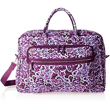 Vera Bradley Iconic Grand Weekender Travel Bag, Signature Cotton