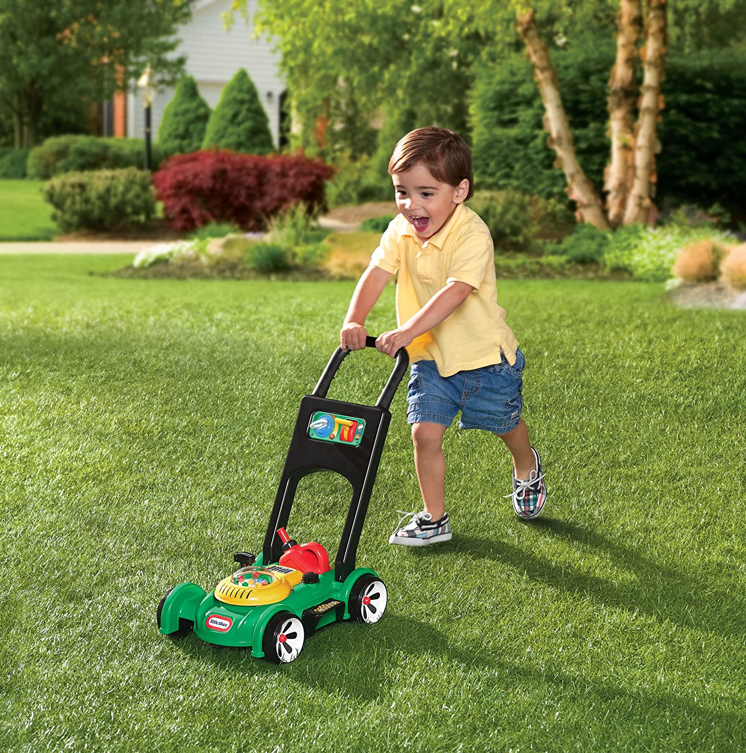Little Tikes Gas 'n Go Mower Toy