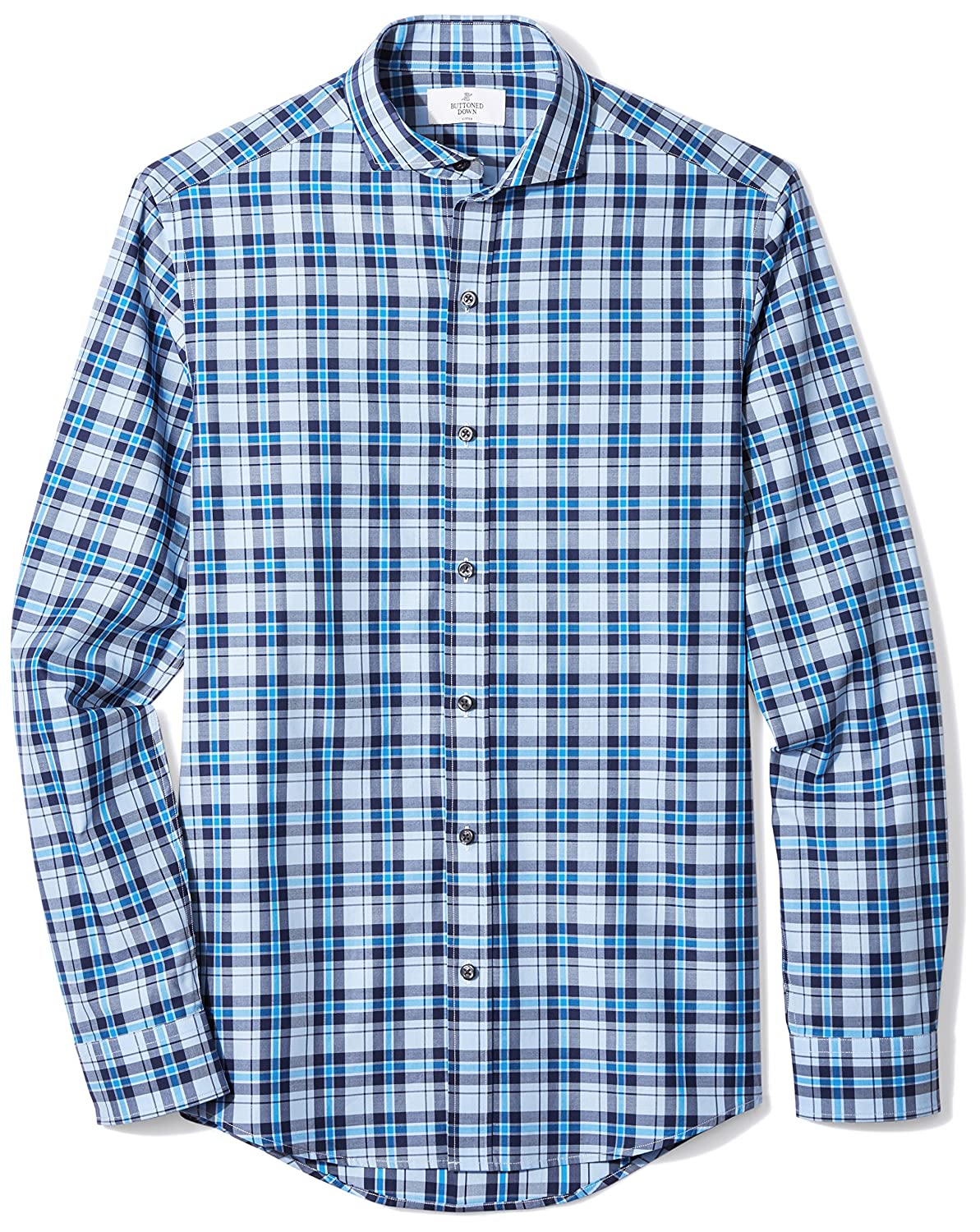 Buttoned Down Men's Fitted Supima Cotton Sport Shirt (3 Collars Available) MBD25008
