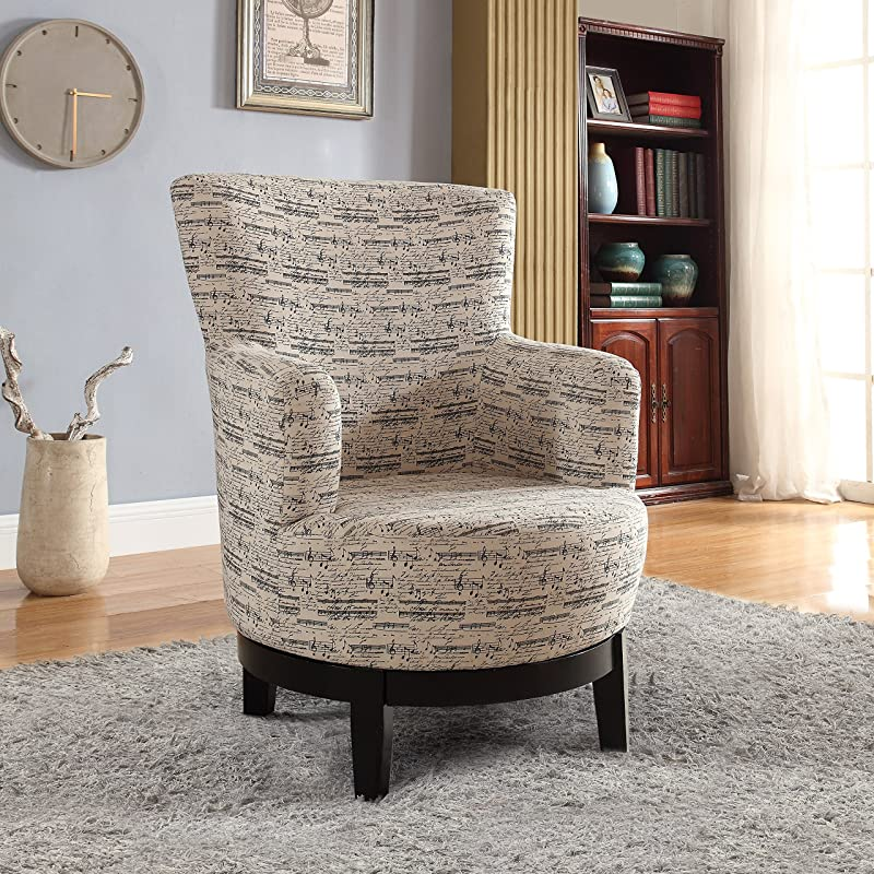 GIanna Swivvel and Accent Chair for Bedroom