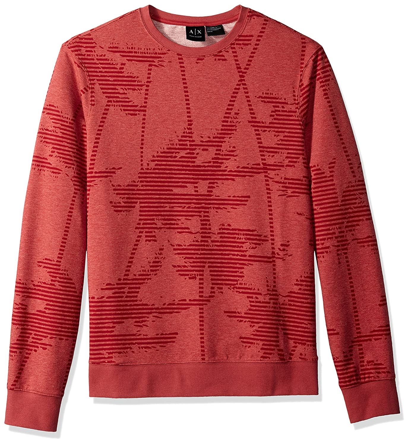 A|X Armani Exchange Men's Palm Tree Sweatshirt