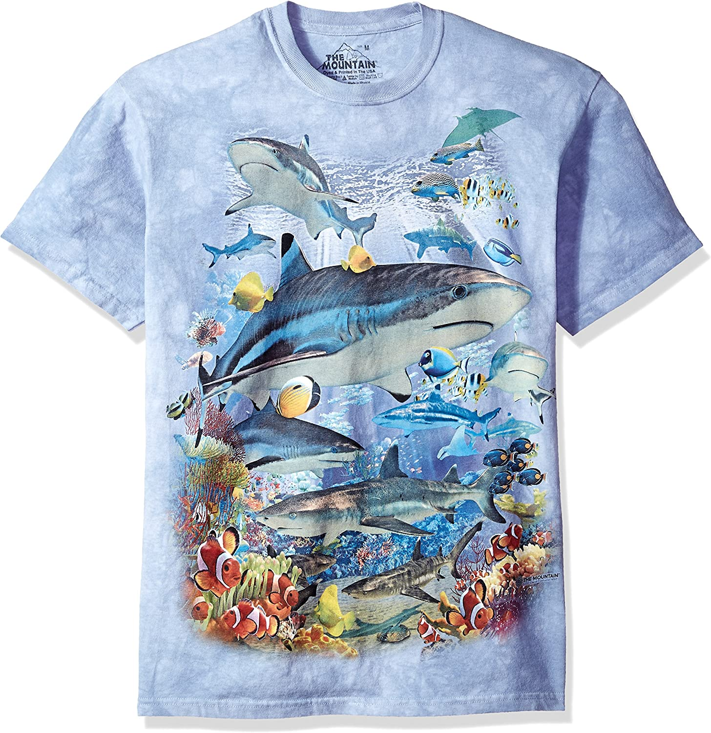 The Mountain Men's Reef Sharks Tee