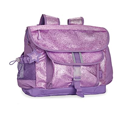 79bb60ad2621 Bixbee Sparkalicious Glitter Backpack - Medium - Purple